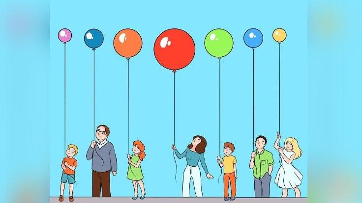 Tavana en yakın balon hangisi?
