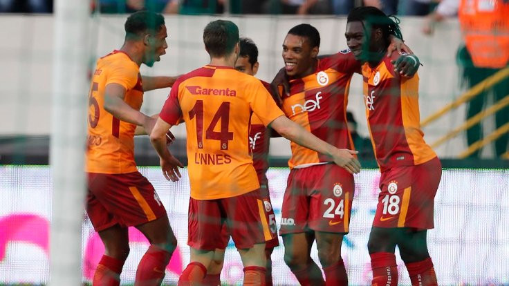 Galatasaray, Rodrigues'le 3 puana uzandı