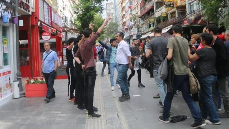 HDP standına saldırı girişimi