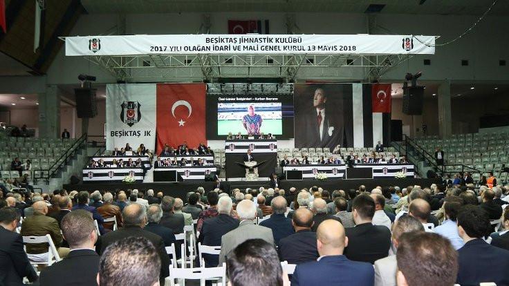Beşiktaş yönetimi ibra edildi
