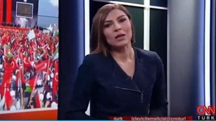 CNN Türk spikeri: Habertürk'ten merhaba!