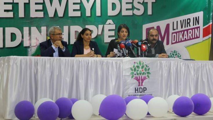 HDP'nin çözüm deklarasyonu