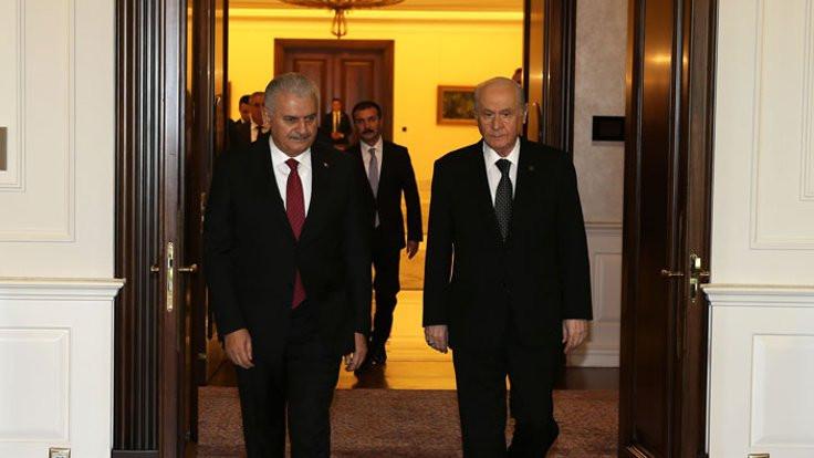 Başbakan da görüşmede!