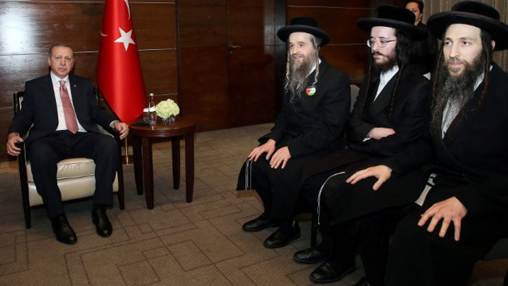 Erdoğan, Musevi cemaati temsilcileriyle görüştü