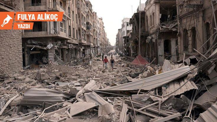 Kumaş atölyesinden Suriye savaşına
