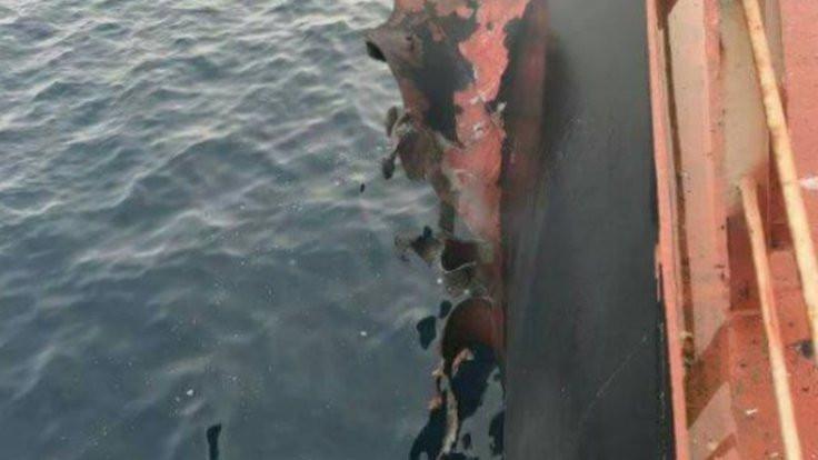 Yemen'de Türk gemisinde patlama