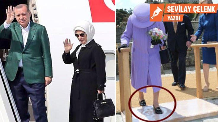 Hermes'in çantası ve kraliçenin ayakkabısı
