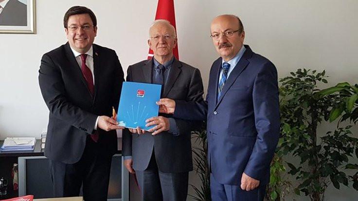 Kaboğlu milletvekili adaylığı için CHP'ye başvurdu
