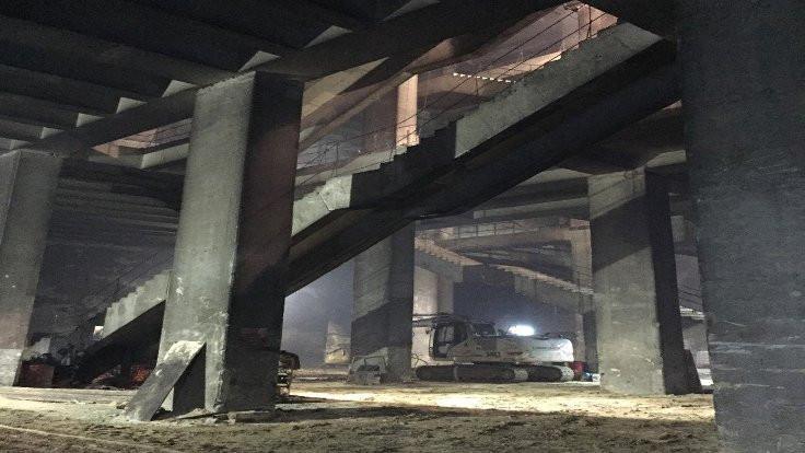 'Mall of İstanbul'un altında metro istasyonu var'