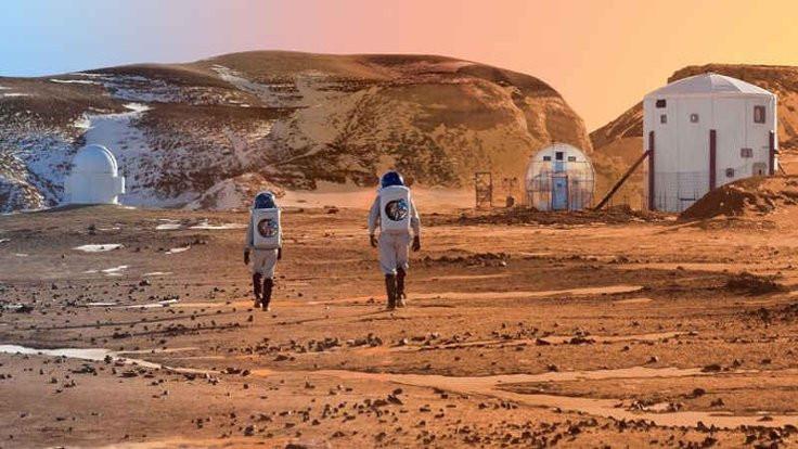 Mars'ta hayatın sırrı Türkiye'de aranıyor!