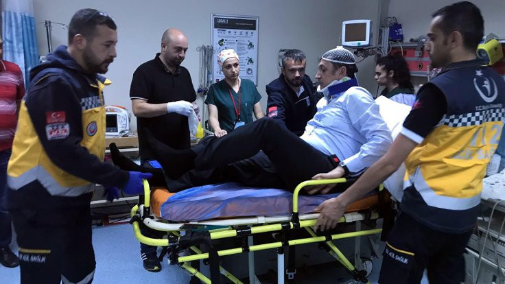 CHP'li milletvekilleri kazada yaralandı