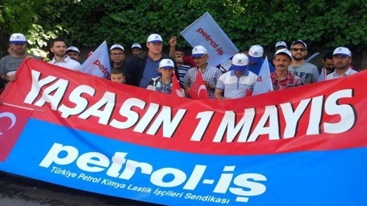 Petrol İş'ten Türk İş'e 1 Mayıs sitemi
