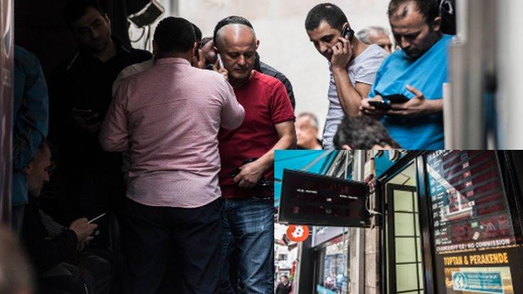Tahtakale'de döviz büroları tabela kapatıyor