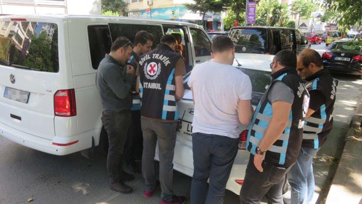 İstanbul'da Uber denetimi