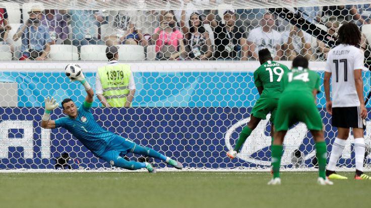 Hadary, Dünya Kupası'nın en yaşlı futbolcusu oldu