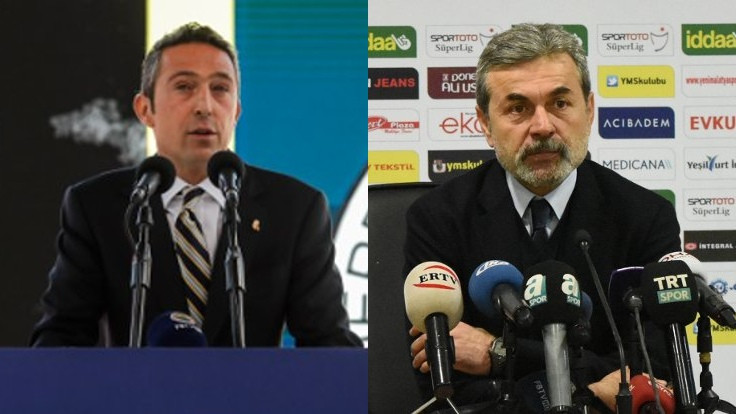 Ali Koç ve Aykut Kocaman görüşmesi sona erdi