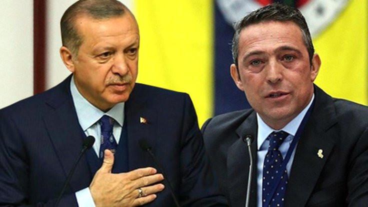 Erdoğan'dan Koç'a tebrik