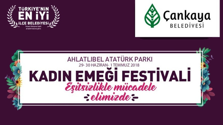 Ankara'da kadın emeği festivali başlıyor
