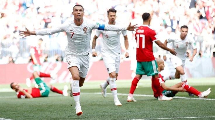 Ronaldo, Puskas'ın 62 yıllık rekorunu kırdı