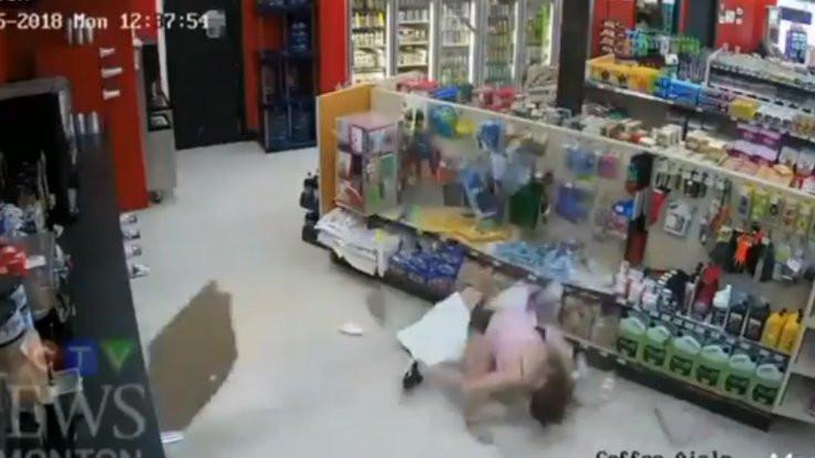 Kanada'daki hırsızlık videosu gündem oldu