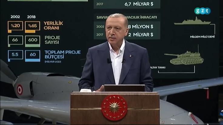 Erdoğan: 2 uydu, Musk'ın roketleriyle fırlatılacak