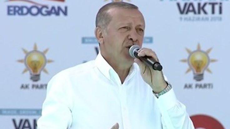 Erdoğan: Bunlar bu ülkeyi de satar