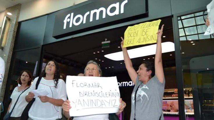 HDP'lilerden Flormar işçilerine destek