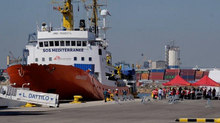 İtalya'nın reddettiği göçmenler İspanya'da