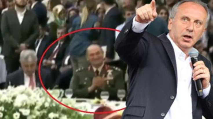 'General misin, AK Parti il başkanı mısın?'