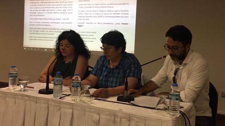 İzmir'de HDP ve Selahattin Demirtaş'a destek açıklaması