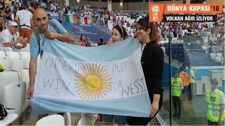 Nijerya'nın büyüsü Arjantin'e yaradı