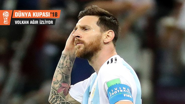 Her gole bir shot: Arjantin'e ve Messi'ye