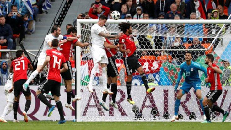 Uruguay Mısır'ı son dakikada yıktı!