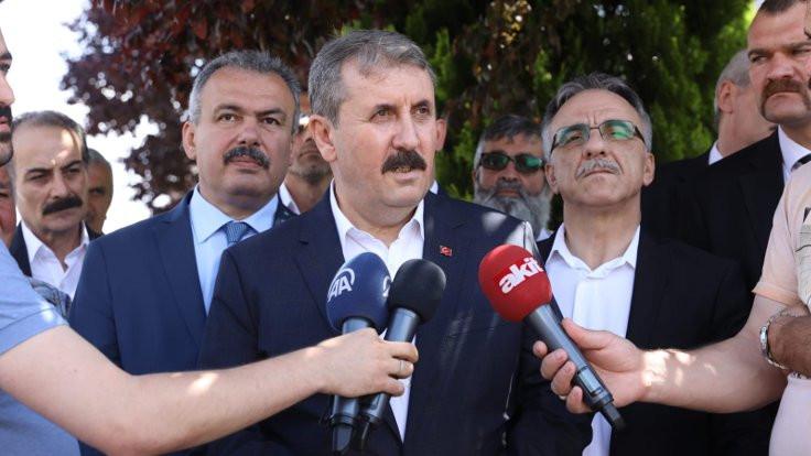Mustafa Destici: 'Apoletini sökeceğim' diyenin ciğerini sökerler