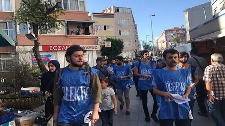 Soylu'yu protesto eden öğrenciler gözaltında