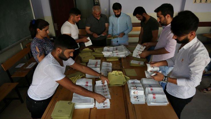 24 Haziran'da oy oranları nasıl değişti?