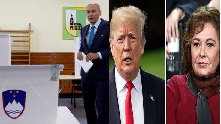 Slovenya seçimleri, Trump ve Roseanne