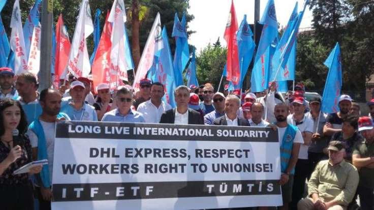 DHL Express'e işçilerden küresel uyarı