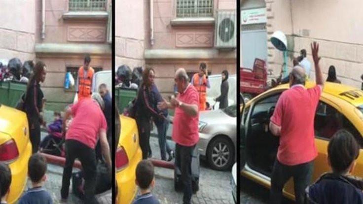 Turisti atan taksici meslekten men edildi