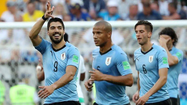 Uruguay tur atladı, Suudi Arabistan elendi