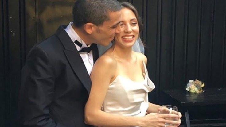 Bonomo ve Karayel evlendi