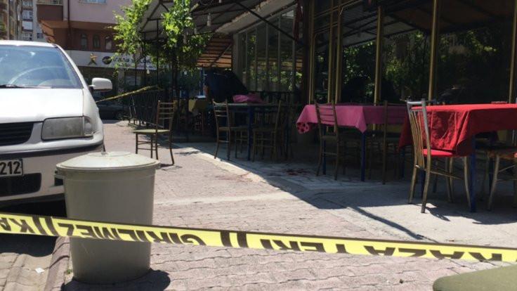 Kahvede pompalı tüfekli saldırı: 1 yaralı