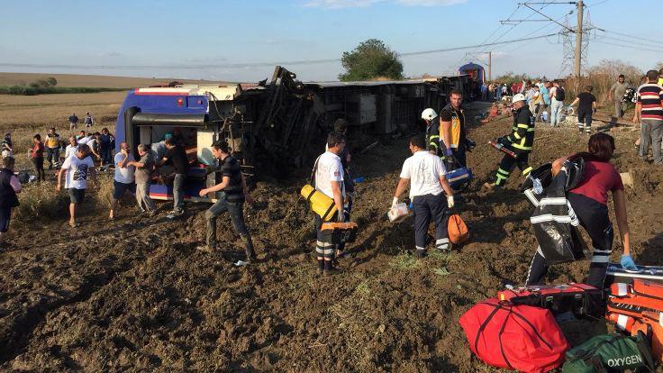 Çorlu'daki tren kazasında ölü sayısı 24'e yükseldi