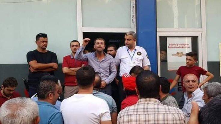Cizreliler DEDAŞ'ı protesto etti