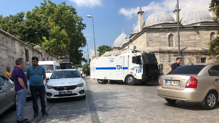 CHP'lilerin İstanbul Üniversitesi'ne girmesine izin verilmedi
