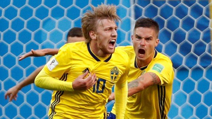 Forsberg İsveç'i çeyrek finale taşıdı