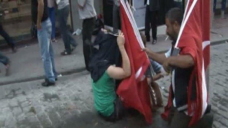 Gezi'nin bayrakçısı 5 yıl sonra beraat etti