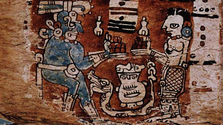 Maya medeniyeti para olarak çikolata kullandı