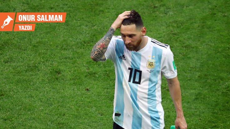 Bırak git Messi