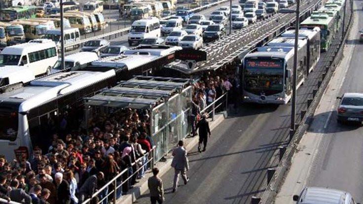 Metrobüs kullanan kişi 4 milyon arttı